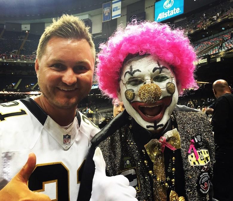 Fanrapport: Falcons at Saints 2015
