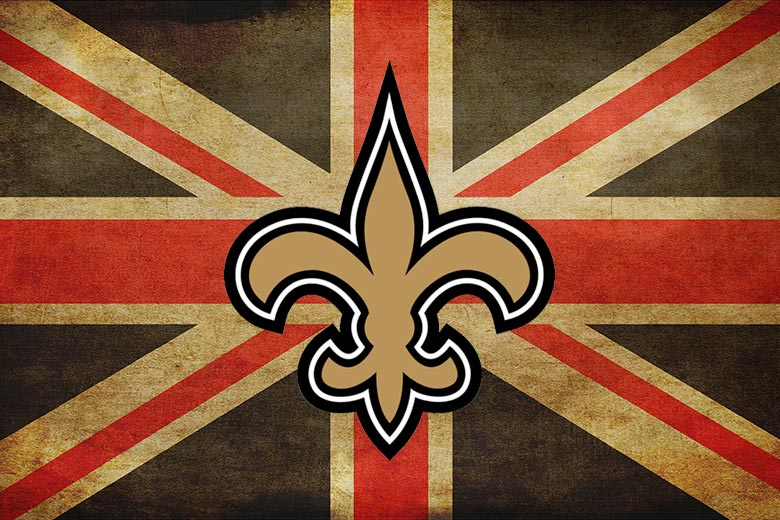 Saints spiller i London i 2017
