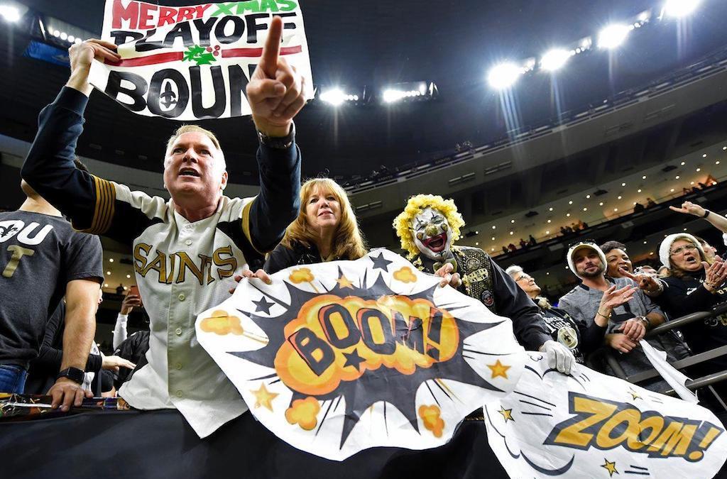 New Orleans Saints kampe i 2018 er offentliggjort
