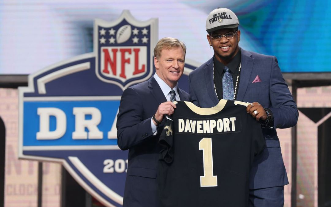 2018 New Orleans Saints draft klasse