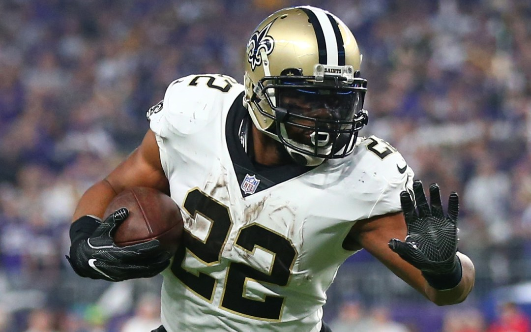 New Orleans Saints siger farvel til Mark Ingram