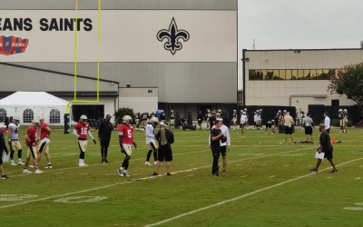 Live fra The Saints Training Camp 2019