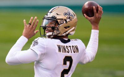 Jameis Winston er New Orleans Saints startende quarterback
