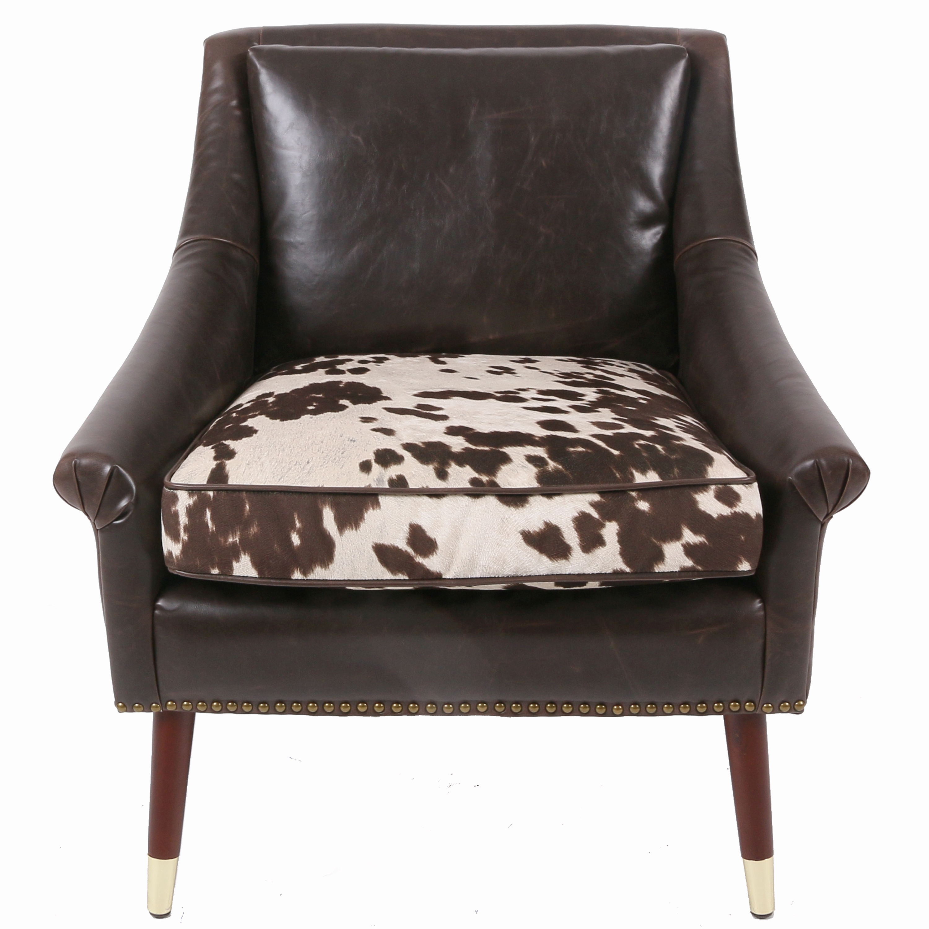 cowhide print accent chair resin outdoor rocking chairs 3500035 npd furniture wholesale lifestyle