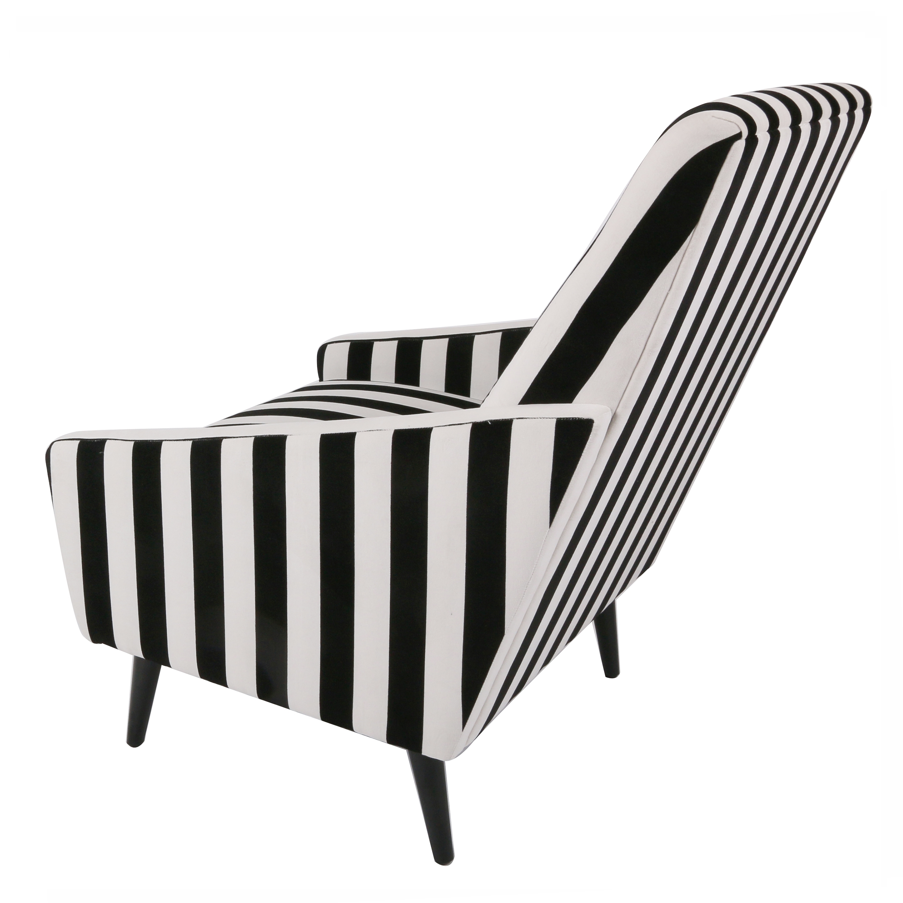 black white striped chair zeus gaming elegant and rtty1