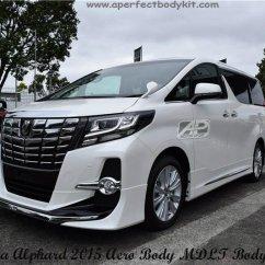 All New Alphard 2.5 X Kijang Innova Q Toyota 2015 Aero Body Mdlt Bodykits ...