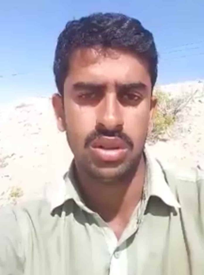 Badam Khan, a Pakistani man who committed suicide because of his father's attitude.