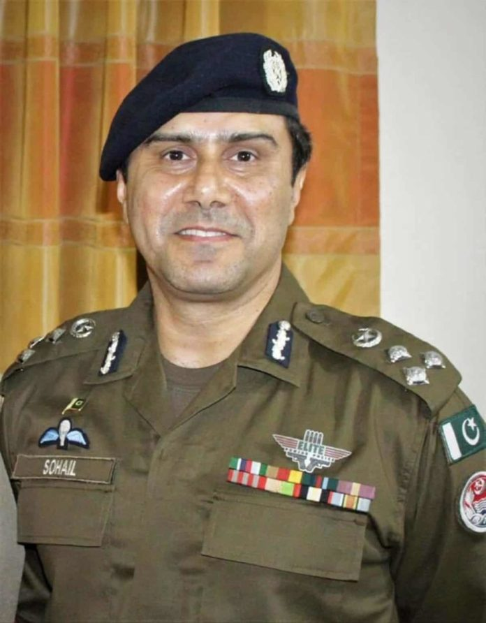 Cheif Police Officer CPO Faisalabad Sohail Chaudhry