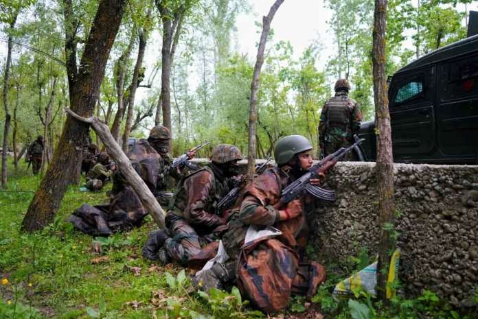 Handwara Gunfight, Two Senior Indian Army Officers has been Killed along A Sergeant at Chenjmohalla Forest Area during an encounter with freedom fighters in Kashmir.