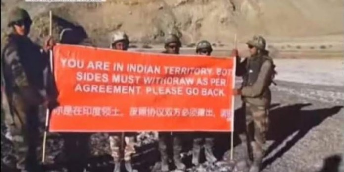 Pleae go back, Indian army begs China military to leave Ladakh
