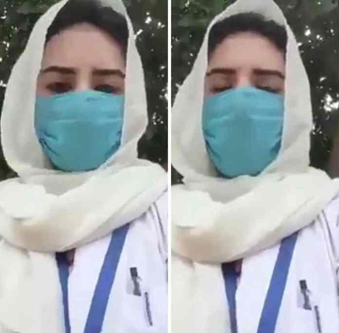 Tiktok Star Rubi Ali poses as Nurse and Spreads fear
