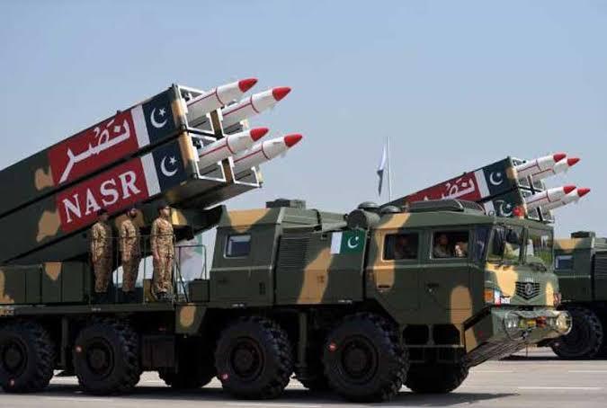 Nasr Missile or Hatf 6 Missile of Pakistan