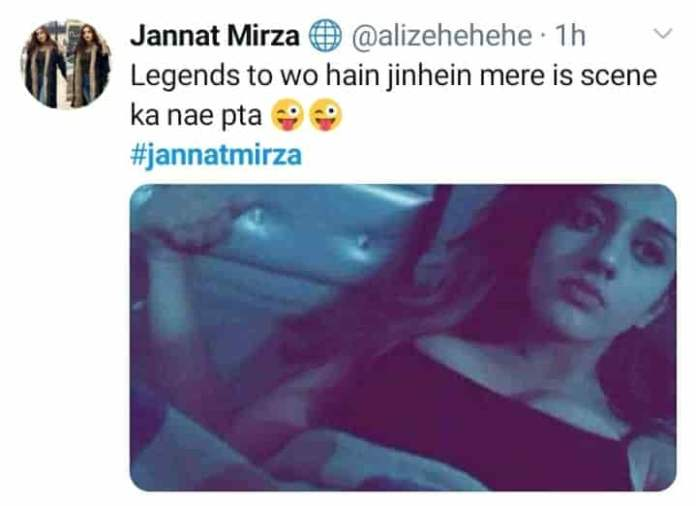 Jannat Mirza leaked Picture