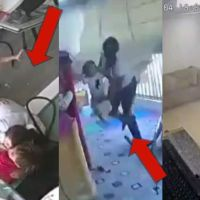 Video: Parents Use Own Body to Shield Children Against Massive Blast Waves of Beirut Explosion
