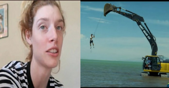 Prediction of David Dobirk excavator stunt was made in 2018 by two Vlog Squad members Carly Incontro and Erin Gilfoy