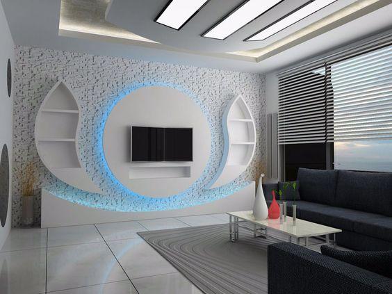 Modern Pop Ceiling Design Living Room
