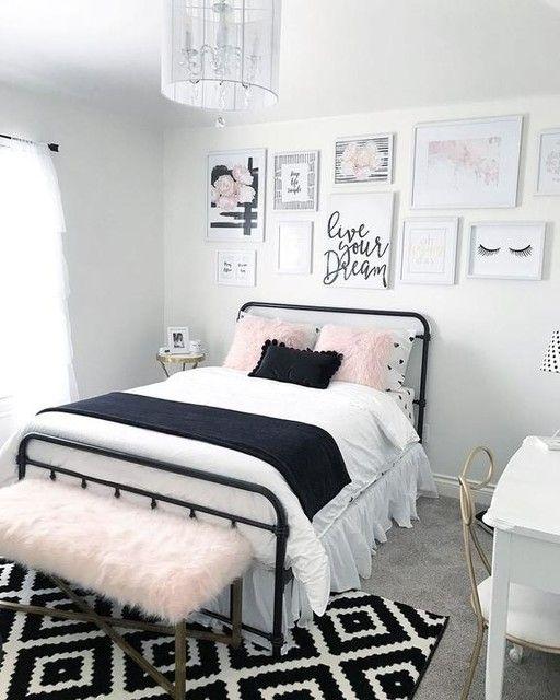 غرف نوم بنات حديثة