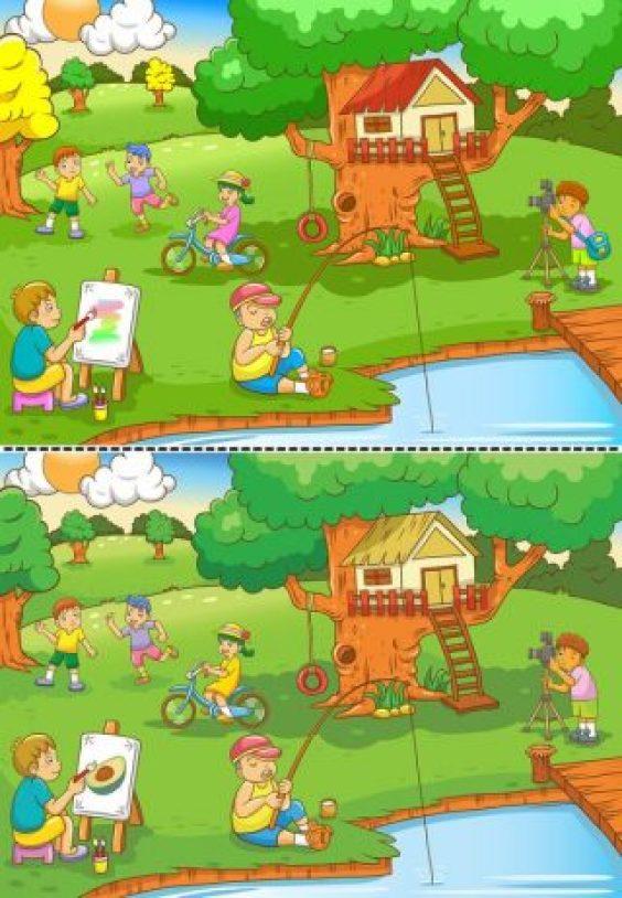الاختلافات بين الصورتين صور لتسالي للكبار والاطفال فوتوجرافر