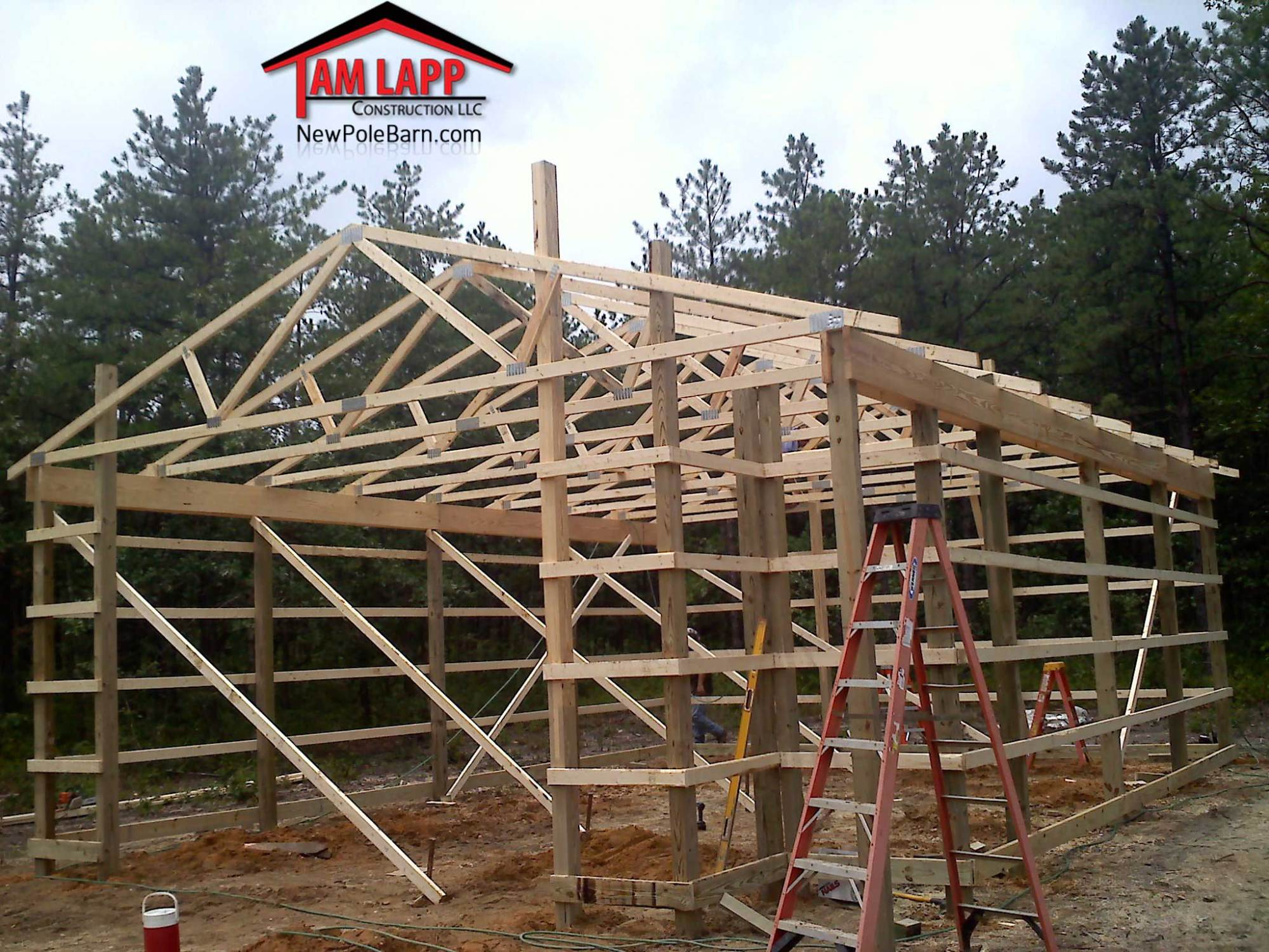 hight resolution of pole building in hammonton new jersey