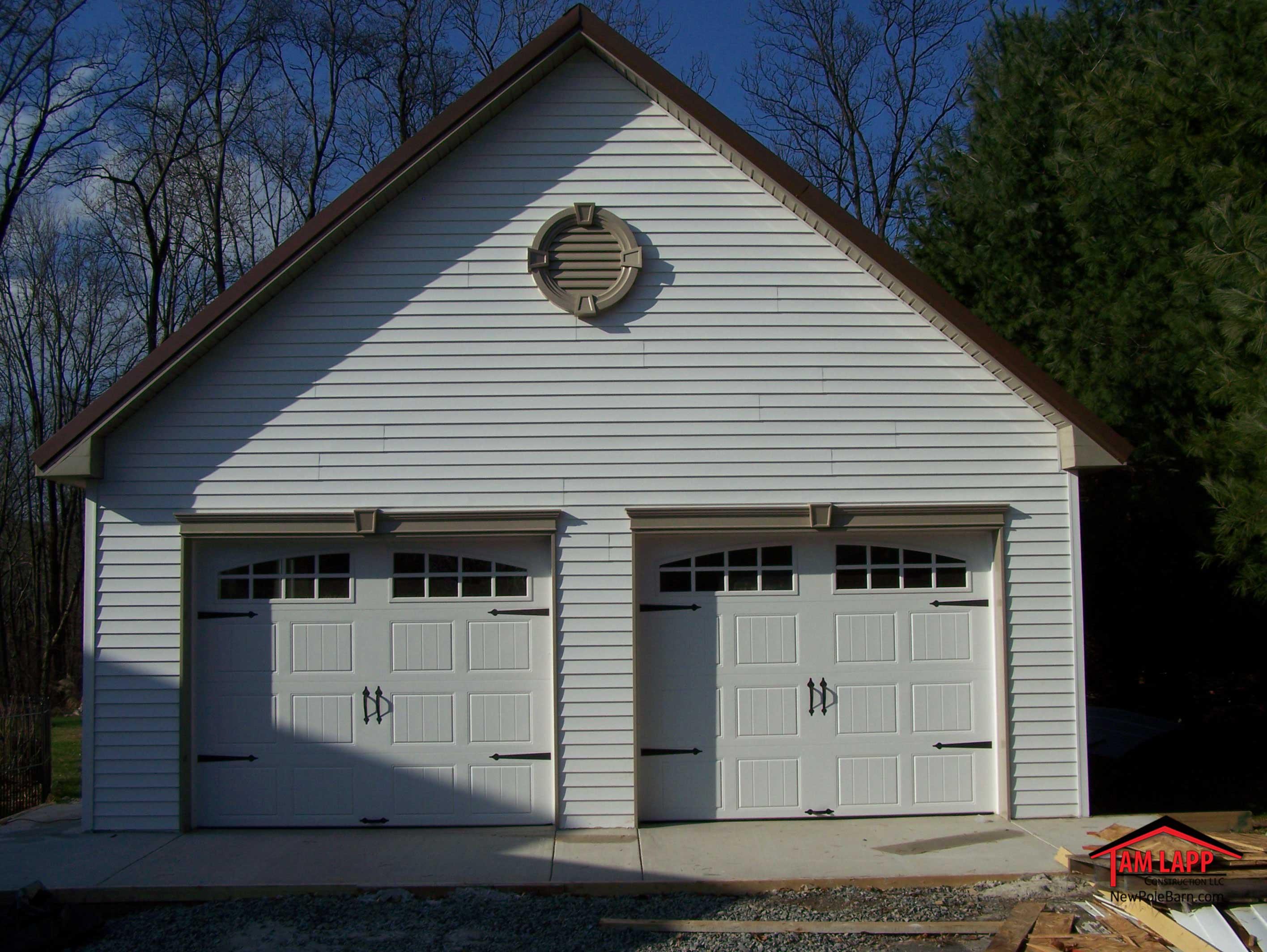 Residential Polebarn Building Sussex  Tam Lapp Construction LLC