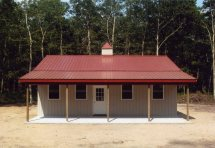 Pole Barn Home Designs