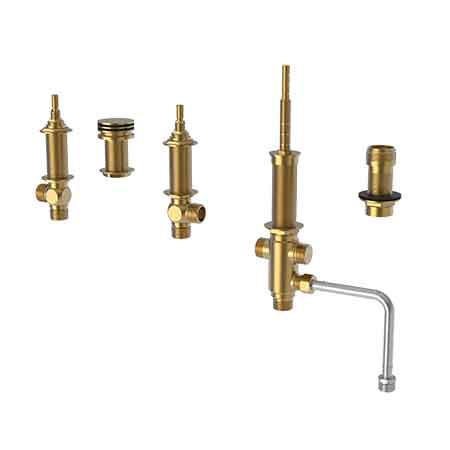 newport brass kitchen faucet triple pendant lights universal items - 3/4