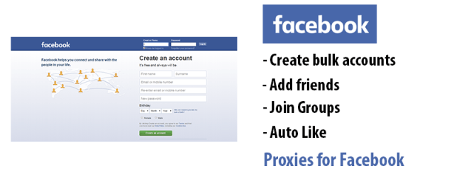 facebook proxies - proxies for Facebook