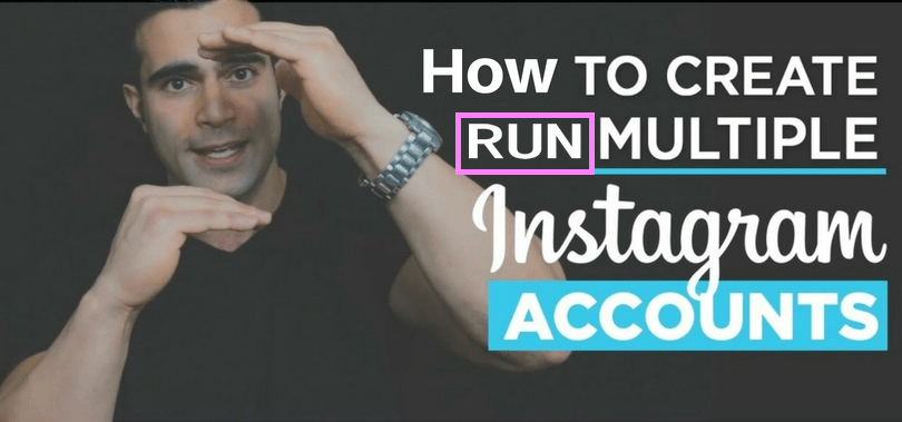 run & Create multiple Instagram accounts