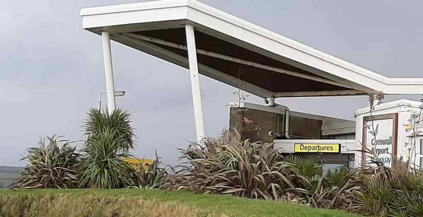 newquay airport NQY terminal image