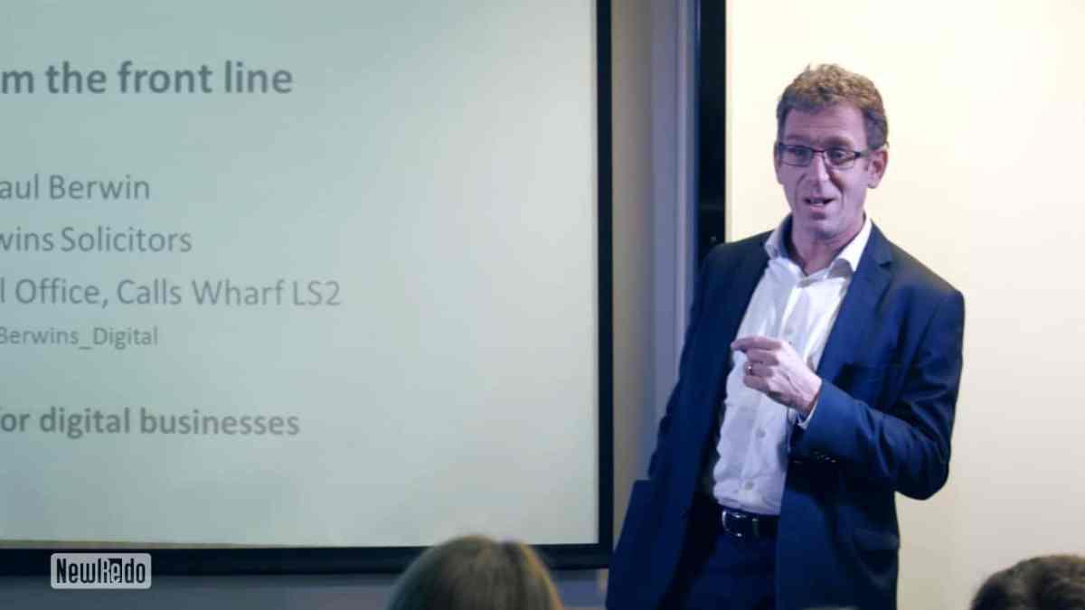 Paul Berwin at Lean Startup Yorkshire
