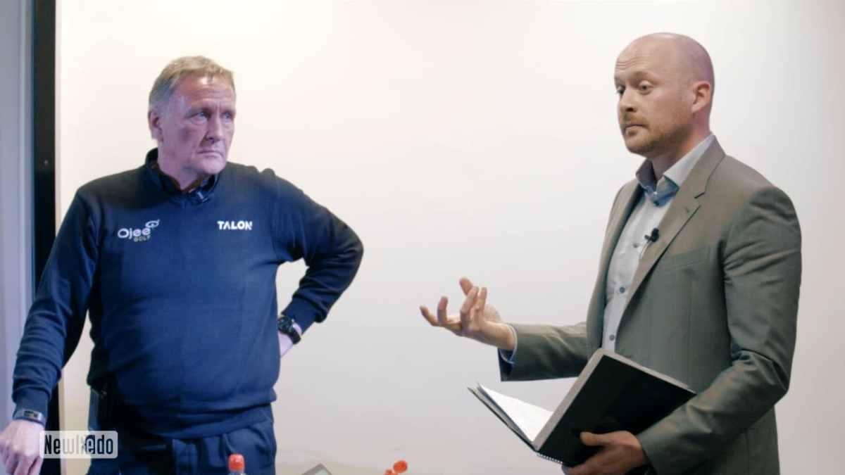 Matt and Paul Hulbert at Lean Startup Yorkshire