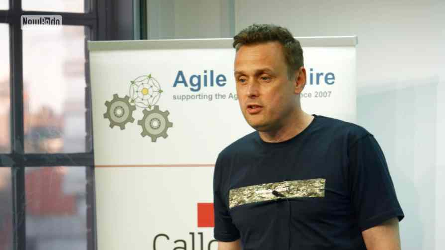 Ian Lister at Agile Yorkshire