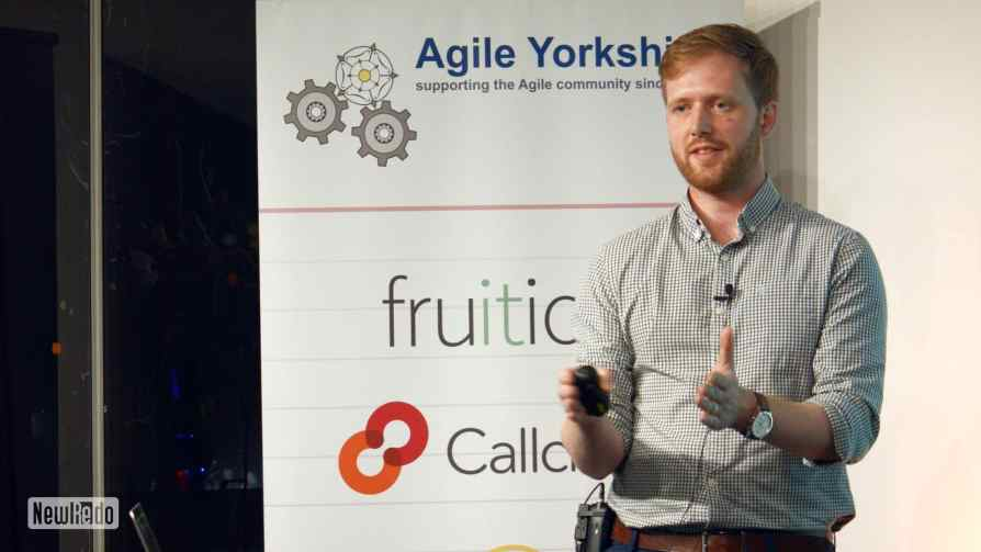 Ian Thomas at Agile Yorkshire