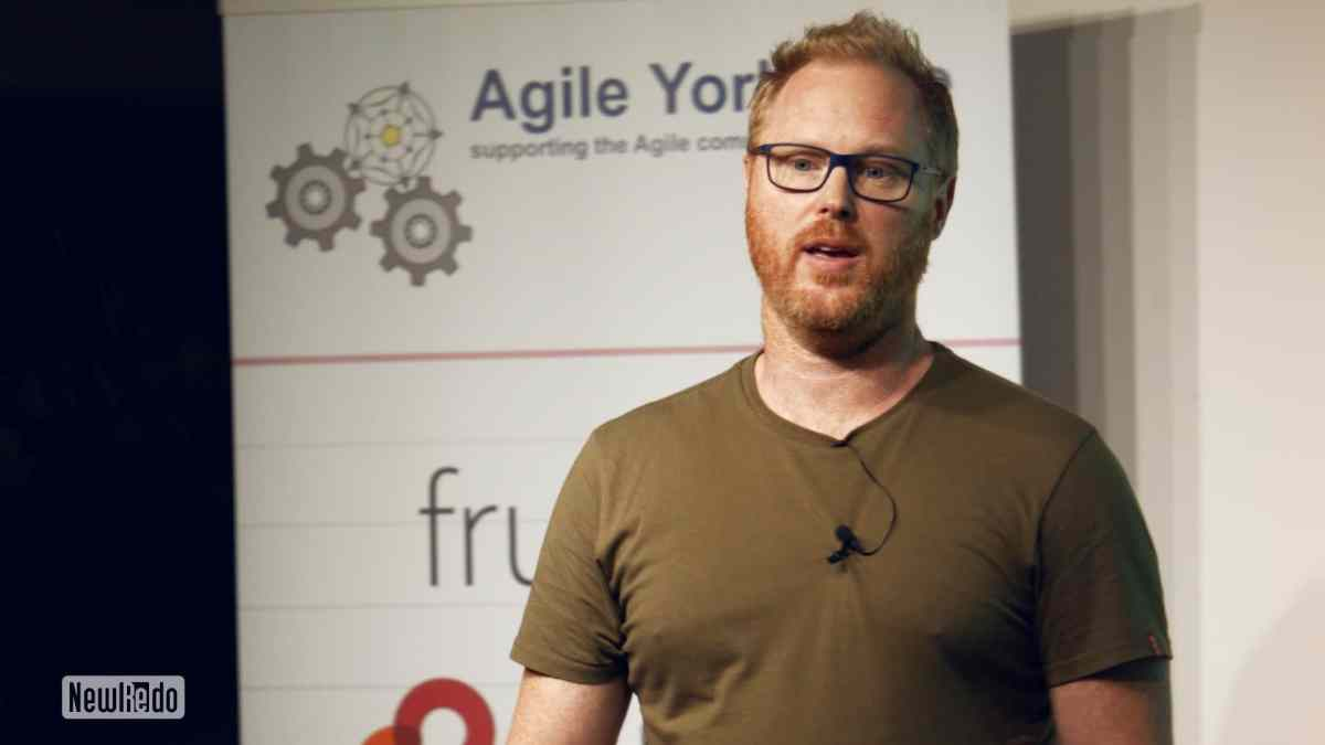 Matt Barnaby at Agile Yorkshire