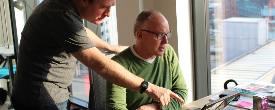 Programming discussion photo