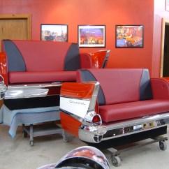 Pick Up Sofa Today El Dorado Leather Sofas New Retro Cars Restored Classic Car Furniture And Decor