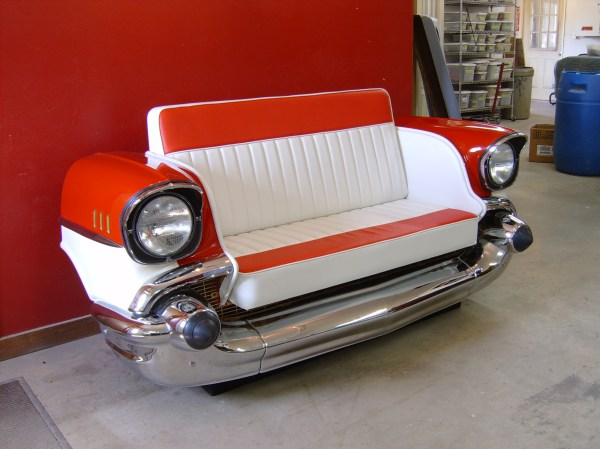 Retro Cars Restored Classic Car Couches Sofas And Chairs Projects