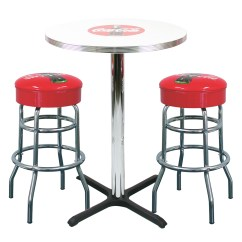 Coca Cola Chairs And Tables Fire Pit New Retro Dining Furniture