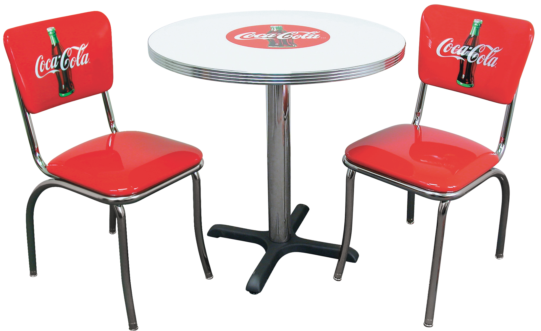 table ronde rouge cuisine