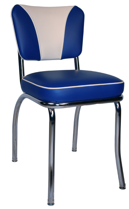 Diner Chair  4280  Wide V Back Chair  Retro Diner Chair