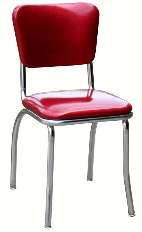 Diner Chair  4110  Classic Curved Back Diner Chair