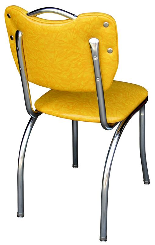 steel vinyl chair wedding covers lancashire diner - 4161 | handle back retro kitchen chairs
