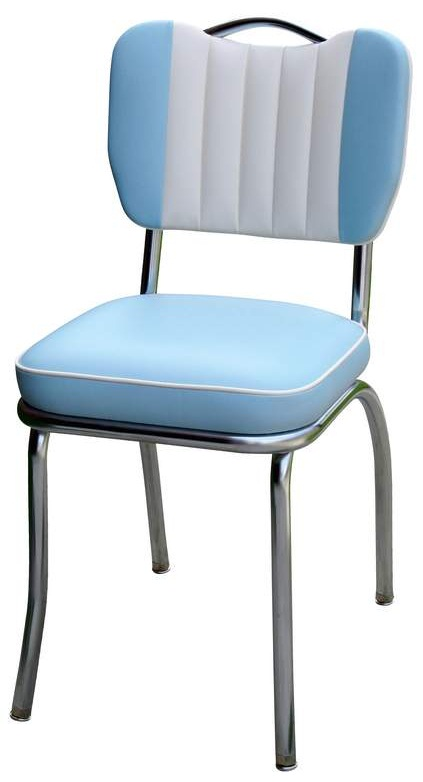 Diner Chair  4260T  Handle Back Chair with Contrasting