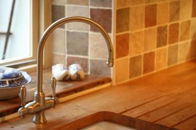 Milbourne Shaker - Sage - Oak Worktops -
