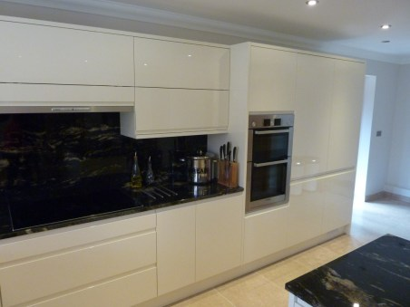 Bosch double oven in brushed steel