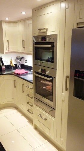 Bosch oven, microwave oven and warming drawer
