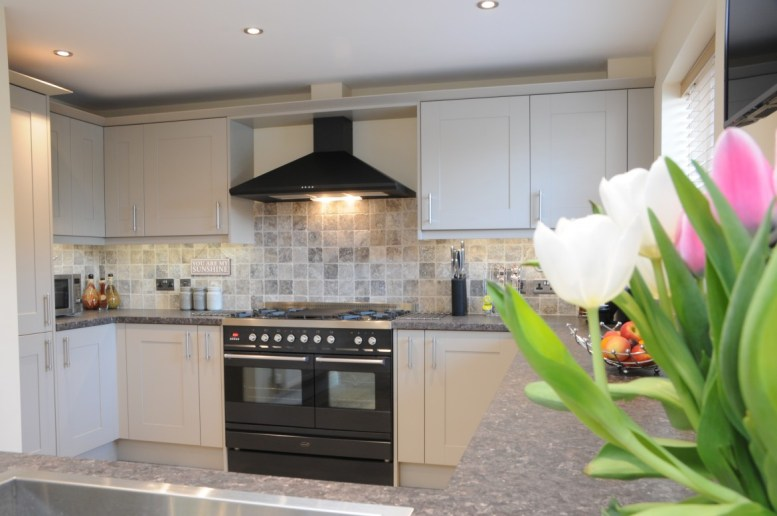 Classic Shaker Stone Painted Kitchen