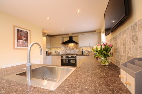 Kohler Vault Sink and Quooker PRO3 Fusion Tap