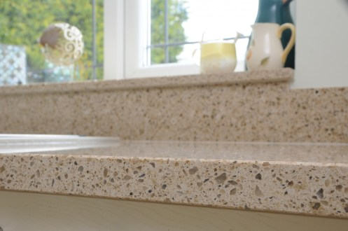 Silestone Bamboo Worksurface and Upstand
