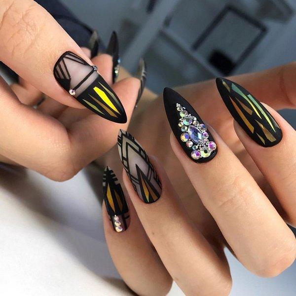 видео дизайн ногтей гель лаком новинки 2019 6